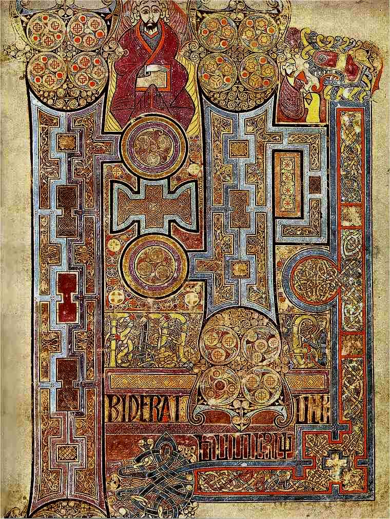 Graphic Design Readability - Book of Kells